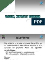 Constantes Variables y Expresiones (1)