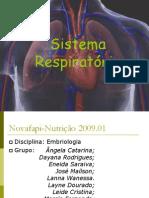 to Embrionario Do Sistema Respiratorio