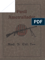 Fusil Ametrallador Fiat Mod S