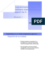 01 - Program Mat Ion en Cpp 1. Premiers Changements Par Rapport Au C