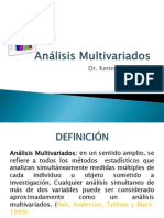 Análisis Multivariados