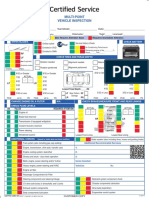 Multi Point Vehicle Inspection Form