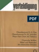 Zivilverteidigung Schriftenreihe 9 - Chemische Waffen, Mittel und Methoden des chemischen Schutzes