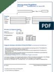 Antrag Auf Zertifizierung Eines Flugleiters