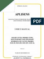 User's Manual of LG-25SAMRT