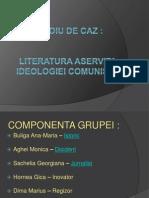Literatura Aservita Ideologiei Comuniste