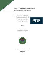 Studi Rangkaian Kontrol Motor Konveyor Di Pt.trubaindo Coal Mining