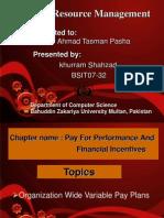 32-Khuram Shehzad-Organization Wide Variable Pay Plans