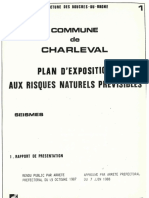 PLU Charleval PPR Seisme 1 Rapport Present