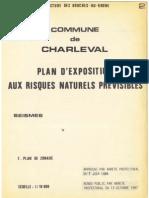 PLU Charleval PPR Seisme 2 Plan Pdg