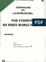 PLU Charleval PPR Seisme 4.1 Zone 2 Regles