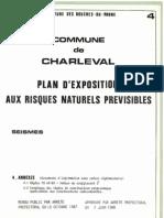 PLU Charleval PPR Seisme 4 Annexes Pdg