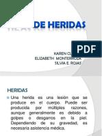 TIPOS DE HERIDAS