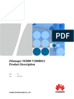 iManager M2000 V200R011 Product IMS V2.1(20110630)