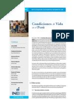 Condiciones de vida en el Perú