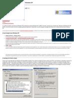 Partage et sécurité des fichiers sous Windows XP