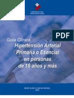 21. Guía Clínica  Hipertensión Arterial Primaria o Esencial en personas de 15 años y más
