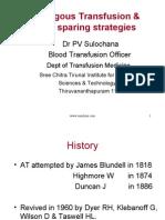Auto Logous Transfusion
