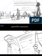 Pink - Rough Storyboards