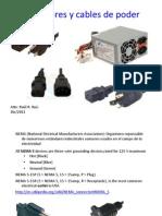 Conectores y Cables de Poder