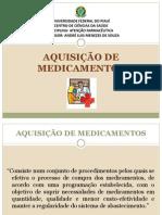 Aquisição de Medicamentos na Assistência Farmacêutica.
