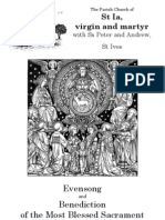 Evensong and Benediction