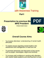 Precious Makiyi Mental Health Presentation
