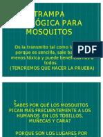 Trampa      Ecológica para Mosquitos