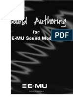 Sound Authoring for E-MU