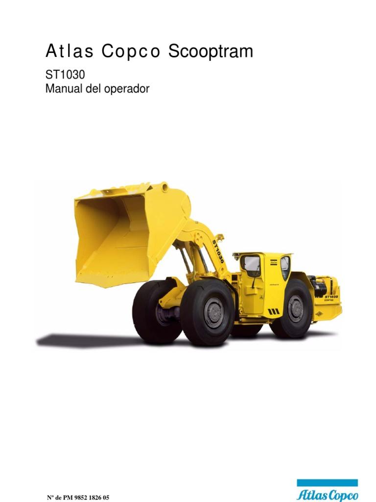 atlas copco st1030 инструкция
