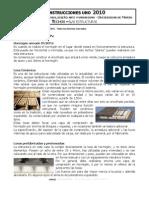 UMORON C1 Techo Estructura