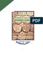 Apuntes de teoría y política monetaria - Mario Alberto Gaviria Ríos