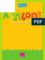 Acticode, Maternelle