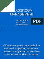 Classroom Management Updated