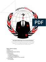 Op New Blood Super Secret Security Handbook