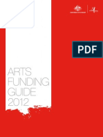 Arts Funding Guide 2012