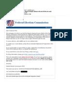 FEC 1st Mail