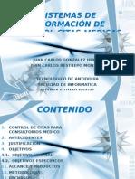 Sistemas de InformaciÓn de Control Citas Medicas En