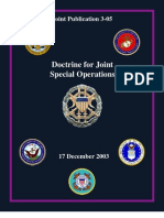 Doctrine for Joint Special Ops