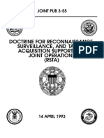 Doctrine for RSTA Support for JointOps(93)