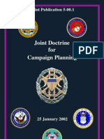 Joint Doctrine for Campaign Planning