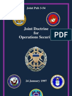 Joint Doctrine for Operations Security