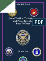 JTTP for Base Defense