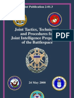 JTTP for JointInelligencePreparation of The Battle Space