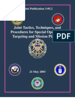 JTTP for Spec Ops Targeting and Mission Planning
