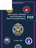 JTTP for Water Terminal Ops