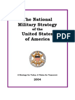 National Military Strategy of the U.S.