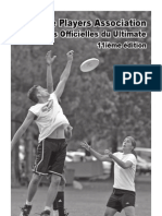 Regles 11 Edition 2007 - Ultimate Frisbee