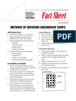 Maryland; Methods of Watering Greenhouse Crops - MD Cooperative Extension