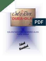 Calentadores Calorex Comerciales